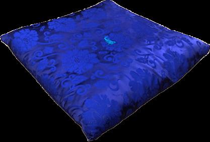 紫大座布団